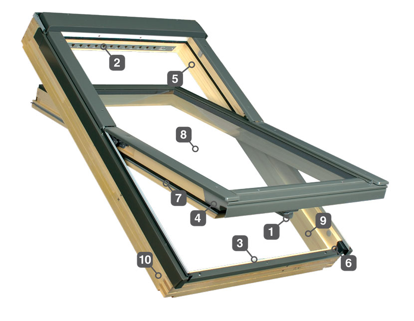 10 reasons to choose Fakro roof windows