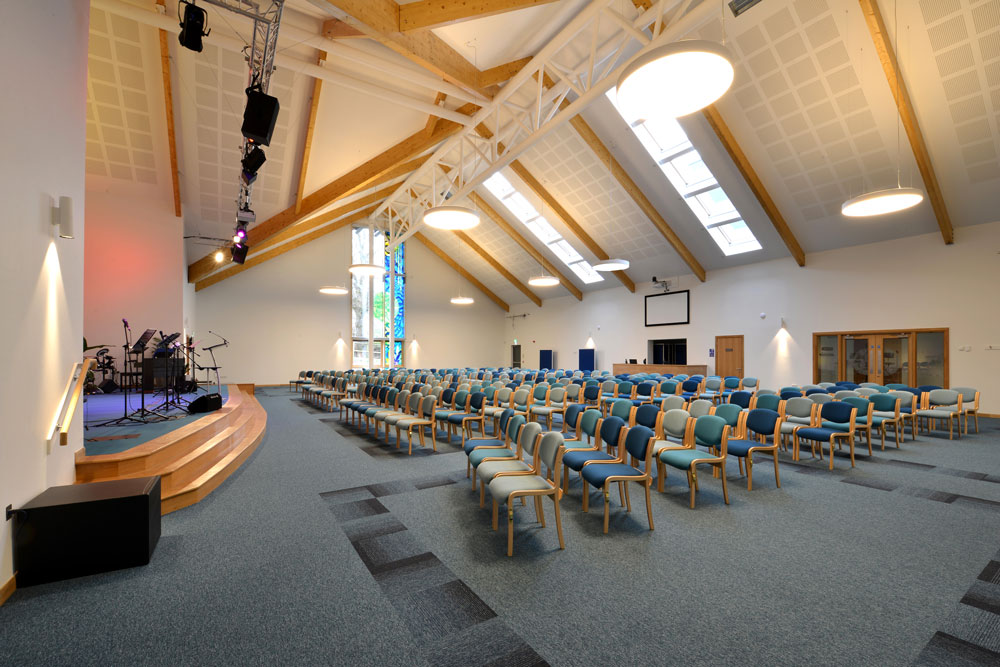 Z-Wave Roof Windows at Dumfries Baptist Church