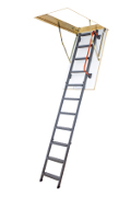 Metal section loft ladders