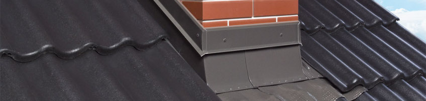 GZK chimney flashing