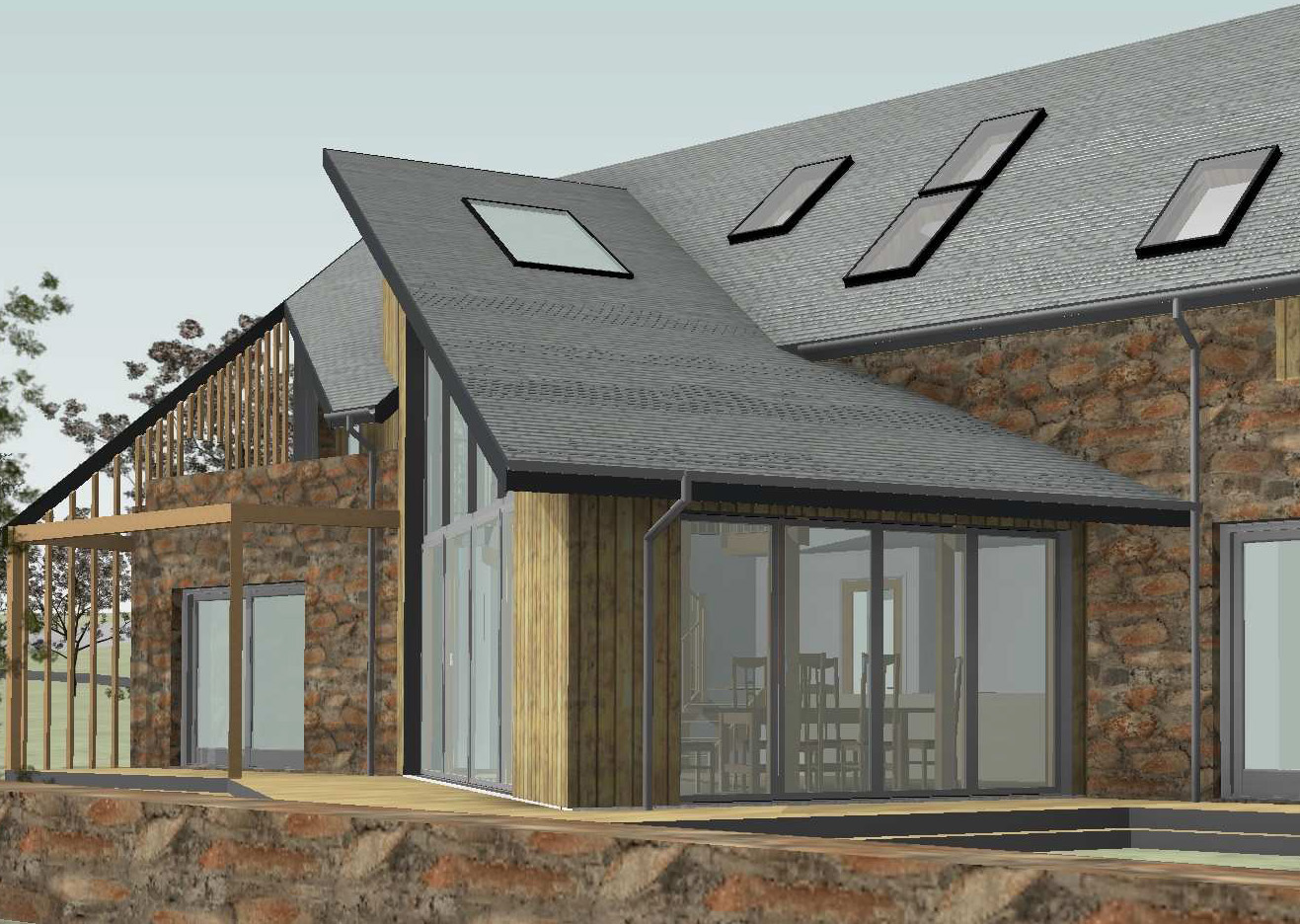 Fakro Roof Windows For Aberdeenshire Passivhaus Self Build