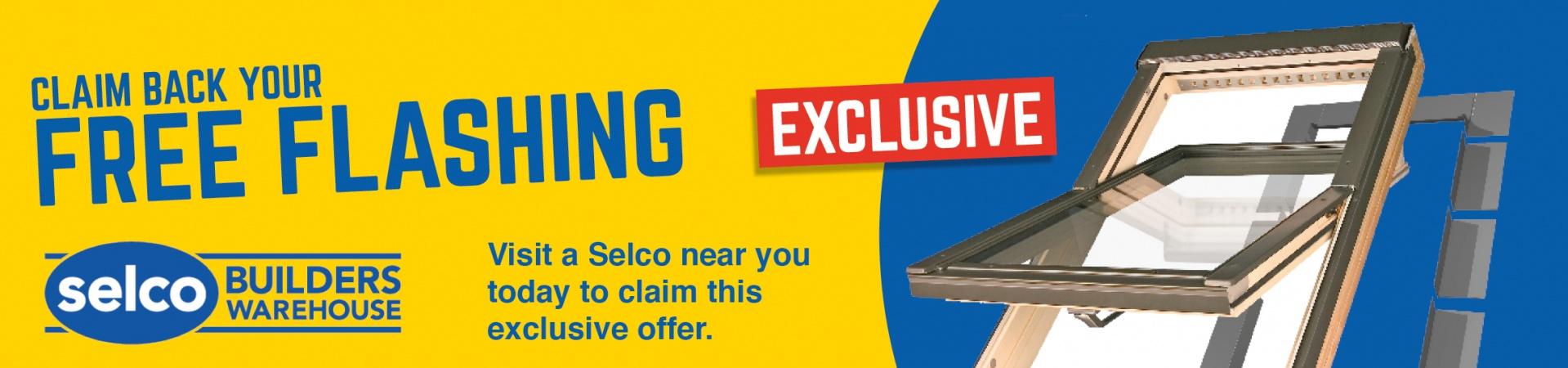 Selco Promotion Free Flashing Claim Back