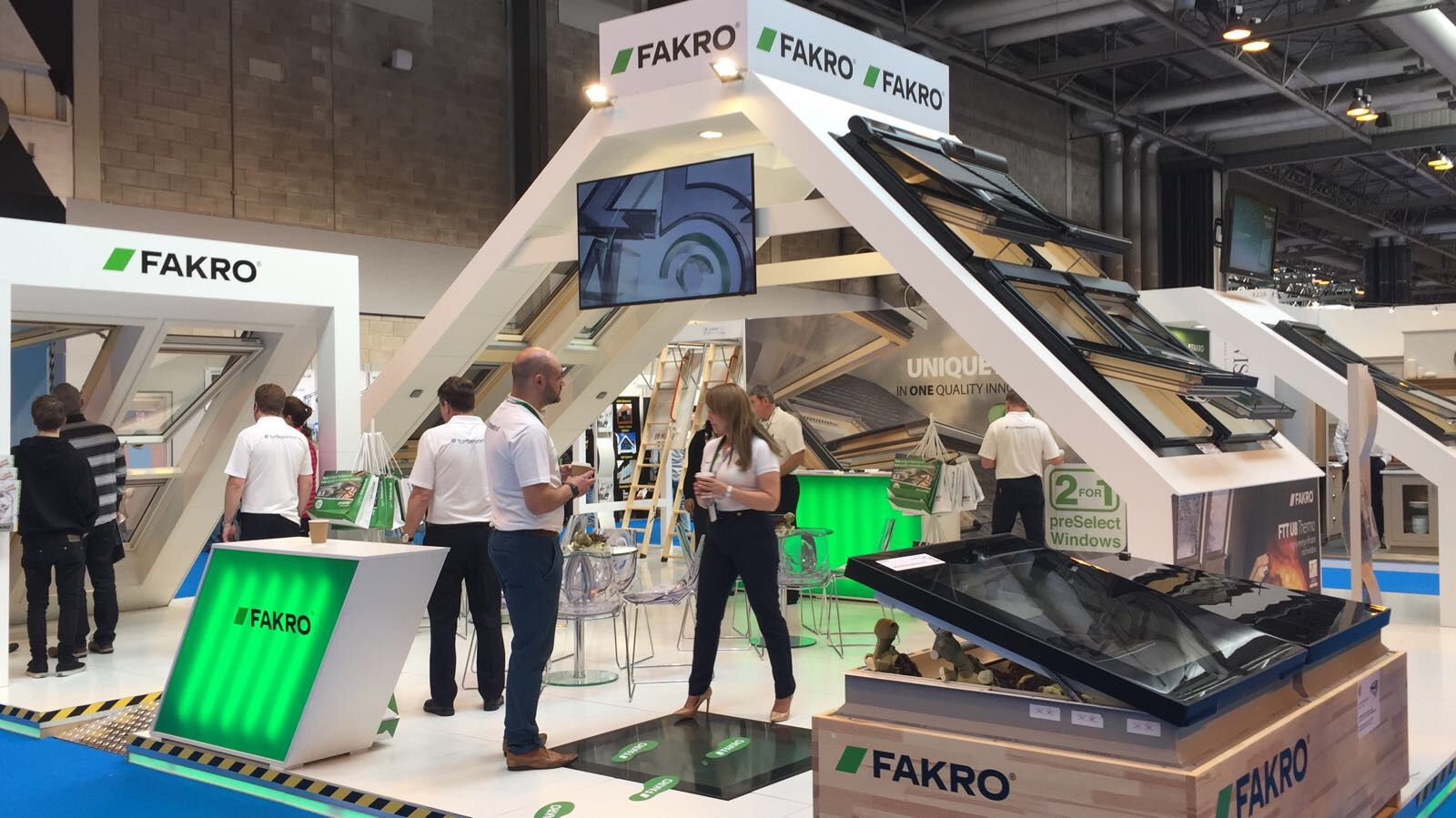 FAKRO celebrate amazing success at the Homebuilding & Renovating Show