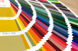 RAL colours book