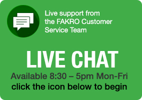 chat with FAKRO GB support