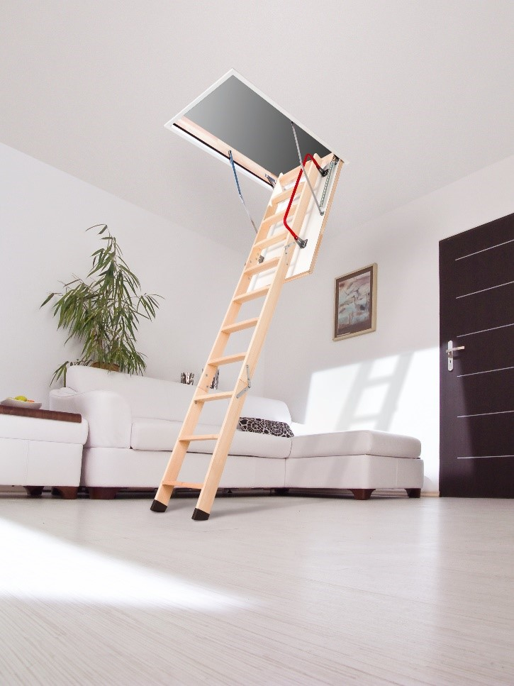 Installation Made Easy With Fakro Lwz Plus Loft Ladder