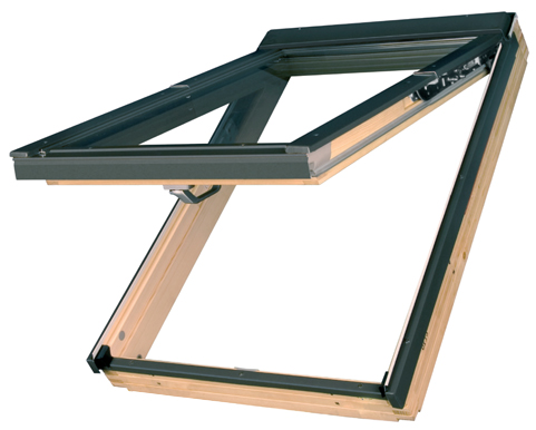 preSelect. Top or Centre Pivot roof windows at the flick of a switch.