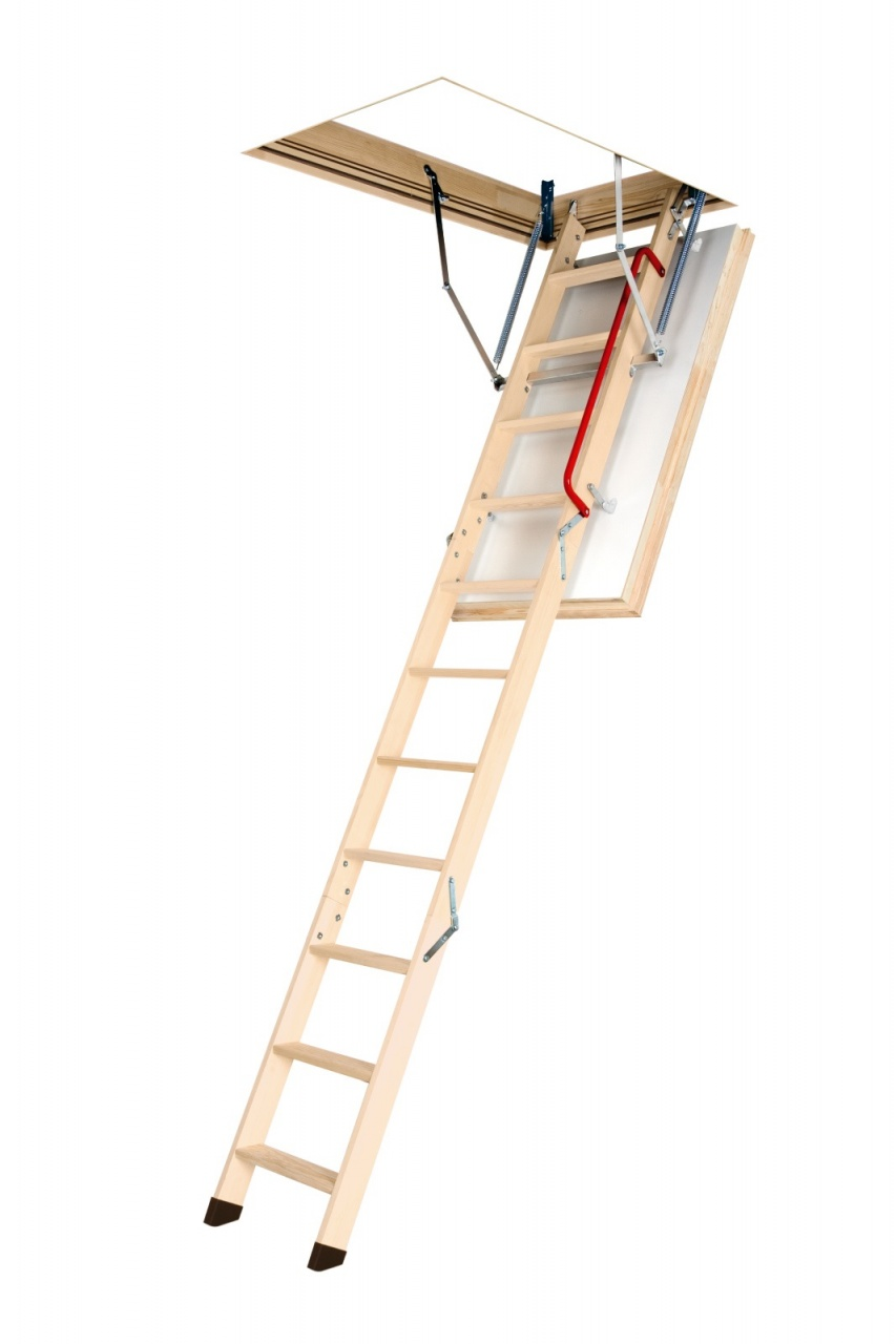 Climb higher with FAKRO's PassivHaus certified LWT Loft Ladder