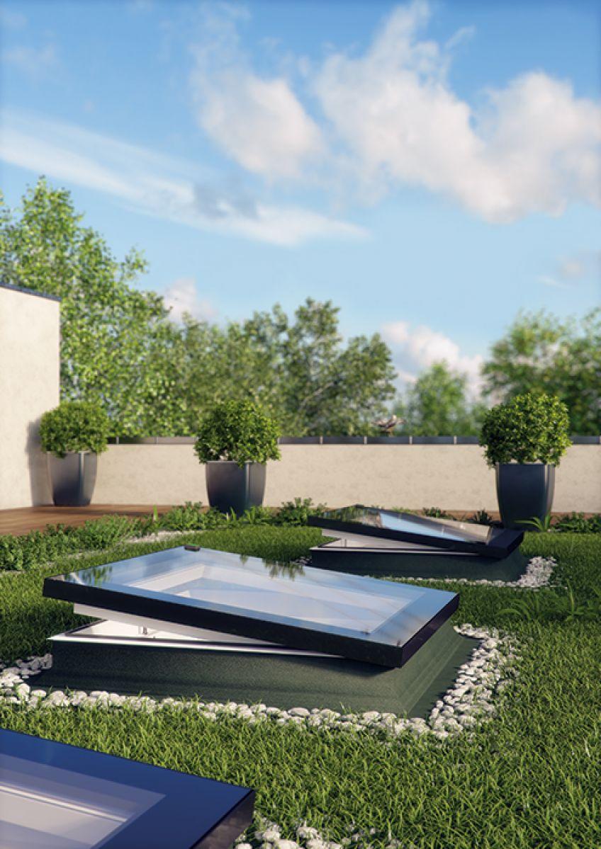 type f flat roof window fakro. Black Bedroom Furniture Sets. Home Design Ideas